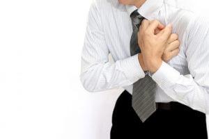 胸が痛いイメージ狭心症