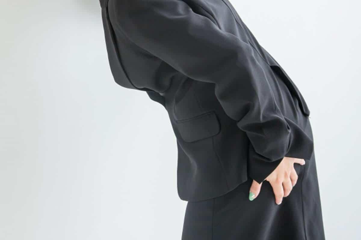 痔の症状女性イメージ