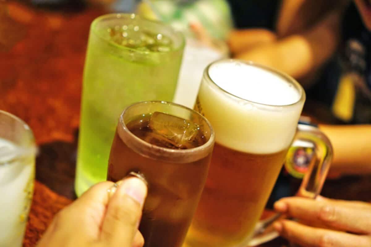 痔の原因アルコール過剰摂取イメージ