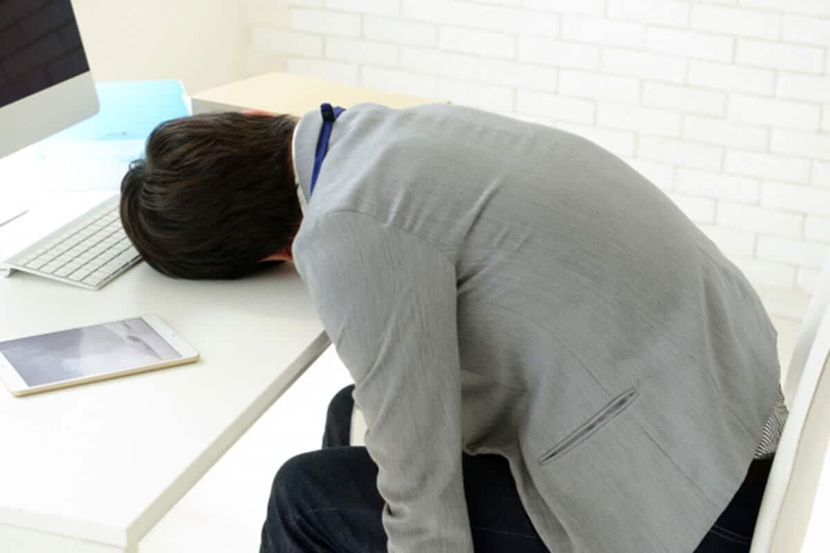 慢性腎臓病の症状倦怠感イメージ