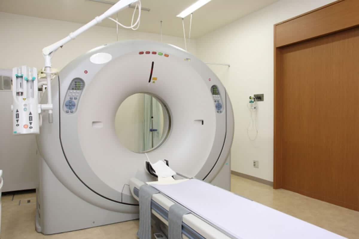 CTスキャン心筋梗塞