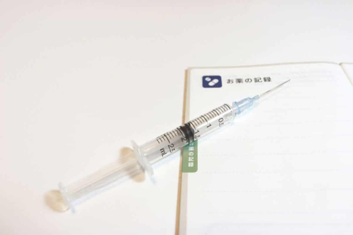 糖尿病のインスリン注射イメージ