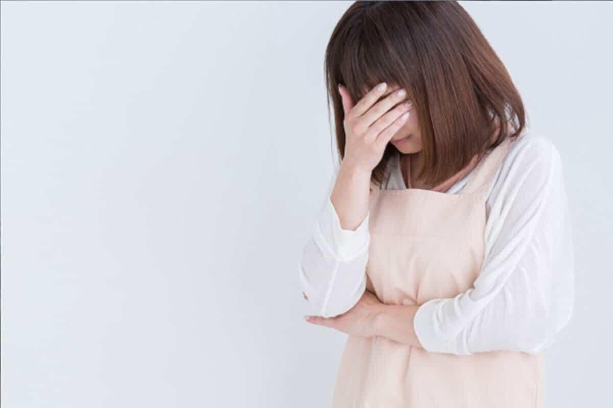 うつ病体の症状女性イメージ